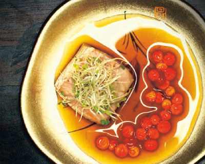 Confit-Salmon-in-Ginger-Juice