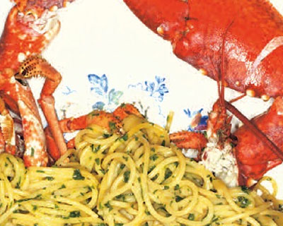 Lobster-Spaghettini