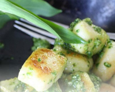 Wild-Garlic-and-Potato-Gnocchi